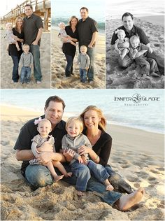 beach family portrait, newport beach, CA, baby, toddler, sand, ocean, pier, sunset, photographer, #Family Portraits, storyboard, Gilmore Studios