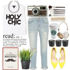 A fashion look from September 2013 featuring Forever 21 tops, J Brand jeans and Zara pumps. Browse and shop related looks.