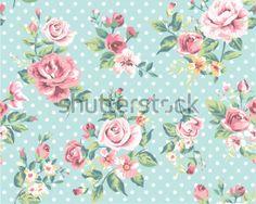 estampado floral vintage - Pesquisa do Google