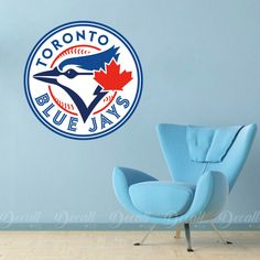 Shop repositionable sports wall stickers to add inspiration to your game room. Perfectly themed to decorate your gym or exercise room. Wall Stickers, Vinyl Decals, Wall Decals, Sports Wall, Sports Logo, Toronto Blue Jays Logo, Gym Room, Workout Rooms, Room Ideas