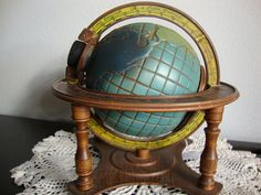 Globe of the World Jim Beam Decanter by LotzOStuff on Etsy