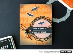 My Monthly Hero: Creativity in a Box September 2016 kit idea #5 by Jayne Nelson. Kit and add-ons available for purchase Tuesday, September 6. #mymonthlyhero