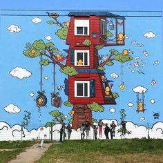 New work by Street Artists Jace and Dan 23 Tag Street Art, Street Art News, Best Street Art, Street Artists, Graffiti Art, Port Du Havre, Selfie, Wall Sculptures, Tag Art