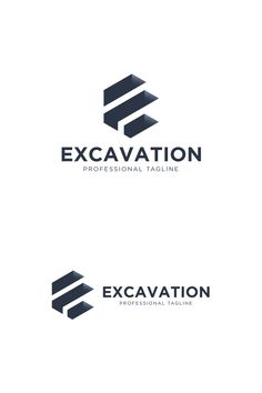 """A geometric, abstract logo design which represents a hexagonal letter """"E"""" seen as a hole in the ground. Wood Logo, Photography Business Cards, Letter E, Logo Inspiration, Logo Templates, Communication, Logo Design, Identity, Communication Illustrations"""