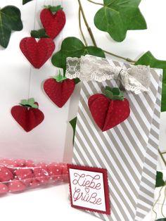 Basteltipp der Woche #23- Erdbeerzeit