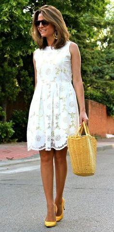 """""""summer white done right"""""""
