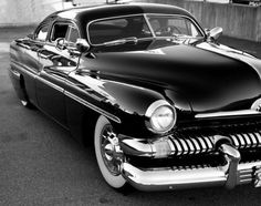 One classic car. I had a 1950 4 door, not the favorite 2 door but I liked it just the same.