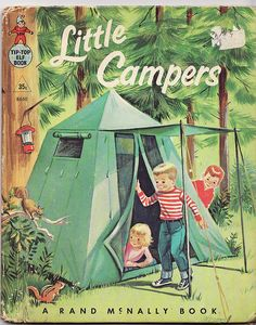 Little Campers- A typical American family (Mom, Dad, brothers and little sister) go camping. Dad puts up the tent. Little sister watches. Brother baits a hook. Little sister watches. Dad and brother build a fire. Little sister watches. Camping Glamping, Camping Life, Camping Hacks, Outdoor Camping, Outdoor Fun, Camping Gear, Retro Camping, Family Camping, Camping Room