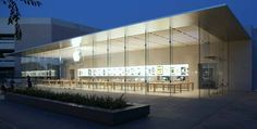 """Stanford 2"" Apple Store, Stanford Shopping Center by Bohlin Cywinski Jackson, Alto, California."
