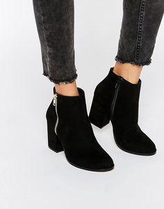 Faith   Faith Belinda Zip Heeled Ankle Boots