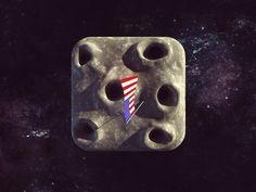 La Luna iPhone icon by zigor