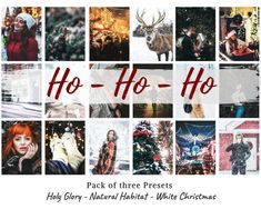 Ho-Ho-Ho Pack of 3 Presets for Snapseed Holy Edit Your Photos, Fall Photos, Warm Colors, Colours, Photo Scan, Snow Scenes, Snapseed, Winter Christmas, Habitats