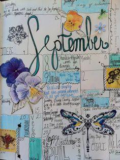 Calendar Journal | September 2012 daily calendar journal. In… | Flickr