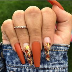 Colors Fall Great Nail Nails Polish Trendy Great For Trendy Nails What nail polish colors are in for fall 2019 TrendyNails Aycrlic Nails, Dope Nails, Glam Nails, Fancy Nails, Matte Nails, Trendy Nails, Hair And Nails, Perfect Nails, Gorgeous Nails