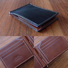 ☀️#leather #leathercraft #wallet #moneyclip #shortwallet #longwallet #passportcase #custom #style #handmade #mildyhands