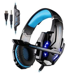 23.99$  Buy here - http://alizvj.shopchina.info/go.php?t=32734453007 - Original Each G9000 Led Gaming Headphone for PlayStation 4 PS4 iPhone Samsung 3.5mm Headset With Microphone  #SHOPPING
