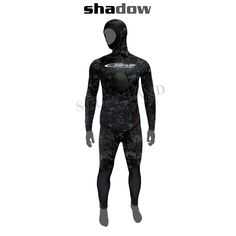 Discover the Epsealon Shadow Camo Yamamoto Wetsuit 7mm + 5mm in Scubalan. It aims a high resistant nylon black camouflage material outside and open cell inside