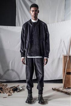 men's styling: PHOEBE ENGLISH MAN AW17 LFWM PRESENTATION