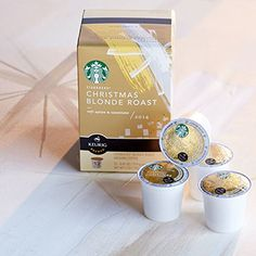 Starbucks® 2014 Christmas Blonde Roast K-cup® Packs - 12 Cups - http://www.fivedollarmarket.com/starbucks-2014-christmas-blonde-roast-k-cup-packs-12-cups/