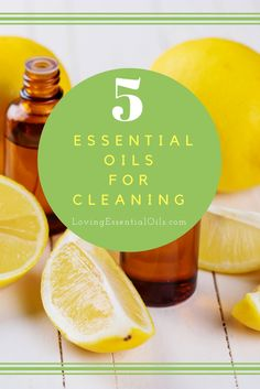Top 5 Essential Oils for Cleaning | How to Clean Naturally | Lemon Oil | Peppermint Oil | Lavender Oil Melaleuca Oil | Orange Oil | Natural Cleaning Products - Go Green
