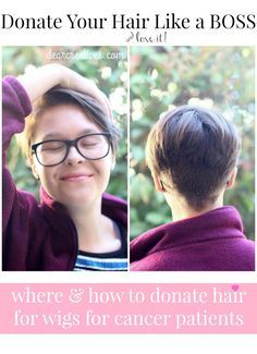 Donating hair how and where to donate hair for wigs for cancer patients  | cancerawareness | helping others | breastcancerawareness | pinkribbon | giving back|