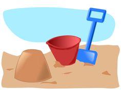 sandcastle 2 Clipart free