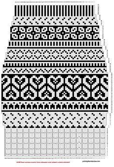 Fair Isle Knitting Patterns, Knitting Paterns, Knitting Charts, Lace Knitting, Knitting Designs, Knitting Socks, Knitting Tutorials, Knitting Basics, Vintage Knitting
