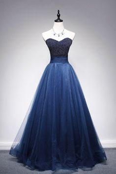Charming Prom Dress,Tulle Prom Dress,Sweetheart Evening Dress,Beading Prom Dress
