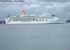 Aurora found via cruise ship tracker shipfinder.co