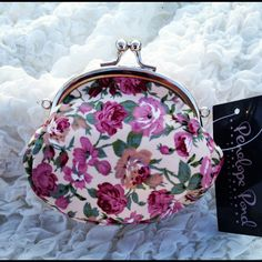 Pemberley Small Pink Purse  - so cute  https://www.facebook.com/pages/Elinors-Cupboard/222897244404367?ref=hl
