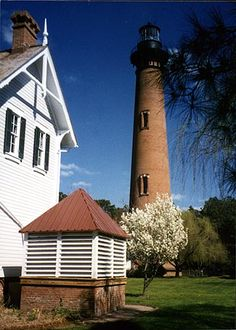 One of the ones we saw on our tour of the North Carolina lighthouses...need to do that drive again