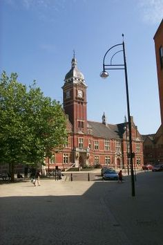 Old Town Hall of Swindon at Regent Circus.  My dear old dad's hometown.