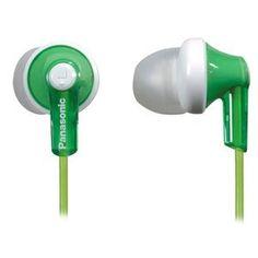 Panasonic RP-HJE120-G In-Ear Earbud Ergo-Fit Headphone (Green) by Panasonic, http://www.amazon.com/dp/B003ELYQHK/ref=cm_sw_r_pi_dp_tGCcqb0VNAKBW