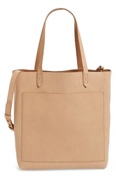 b54652607d3a Madewell Madewell Medium Leather Transport Tote available at