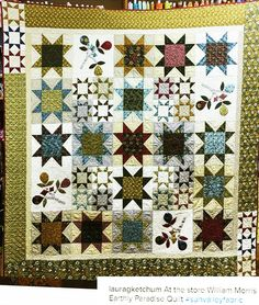 Morris Housetop Detail by Roseanne Smith | Quilt William Morris ... : sun valley quilts - Adamdwight.com