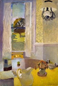 Fairfield Porter: Still Life with Yellow Tablecloth