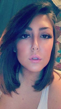 Full lash/fake lip glamour.