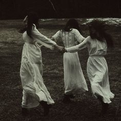 [Ther triplets: Selene, Artemis, and Persephone]