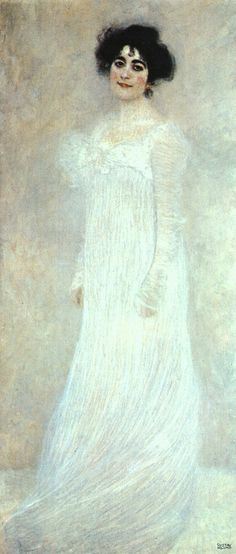 Serena Pulitzer Lederer (1867–1943) by Gustav Klimt (Austrian, 1862–1918). 1899 | Metropolitan Museum of Art http://www.metmuseum.org/Collections/search-the-collections/110001264?rpp=20=1=813=*=2