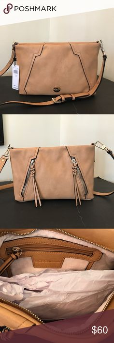 🆕BCBGeneration Crossbody Bag New. BCBGeneration Crossbody Bag. Caramel color. BCBGeneration Bags Crossbody Bags