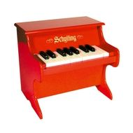 Schylling Piano rood -De Oude Speelkamer