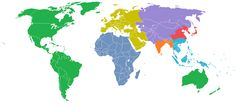 """Seven Billions:"" The World Divided into Seven Regions, Each with a Population of One Billion pic.twitter.com/QKeDzuHUvc"