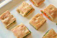 Mini Fourth of July Focaccia Sandwiches Recipe | Healthy Ideas for Kids