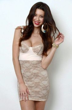 #lovemelrose.com          #love                     #LoveMelrose.com #From #Harry #Molly #Bustier #Lace #dress #white/beige #from #Love #Melrose            LoveMelrose.com From Harry & Molly | Bustier Lace dress white/beige from Love Melrose                                             http://www.seapai.com/product.aspx?PID=1093190