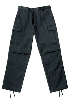 Black BDU Pants w Teflon Coating