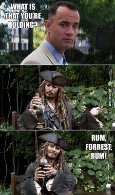 Rum, Forrest