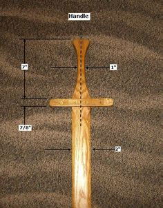 Free Wooden Toy Sword Plans - How to Make Toy Wooden Swords