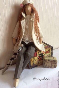 """Купить Кукла Тильда """"Беатрис"""" - белый, кукла ручной работы, тильда, интерьерная кукла, подарок"""