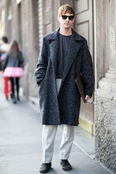 50 of the Best Street Style Snaps from Milan Men's Fashion Week Fall 2014 - theFashionSpot#/slide/19