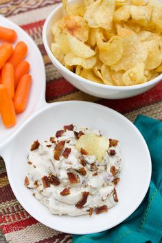 Caramelized Onion & Bacon Dip Recipe
